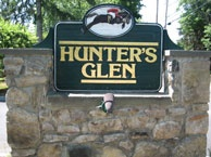 Hunter's Glen condo sign