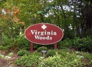 Virginia Woods sign