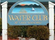 Water Club Mahopac sign